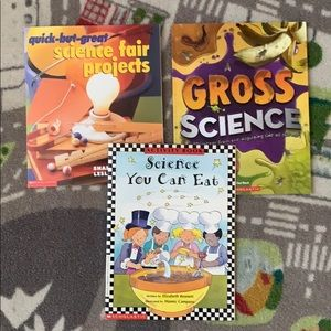 Homeschool Science Books Project Ideas At Home 3ct